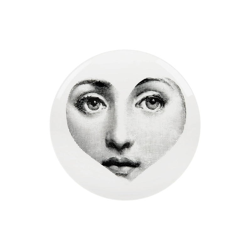 Plate Theme and Variations n.41 B/W - Fornasetti