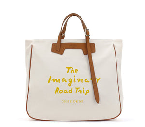Grand Sac Imaginary Road Trip Ivory - Chez Dede