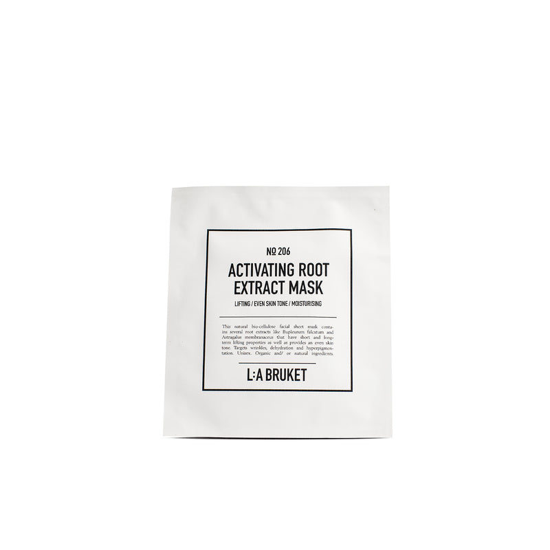 206 Activating root extract mask - L:A Bruket