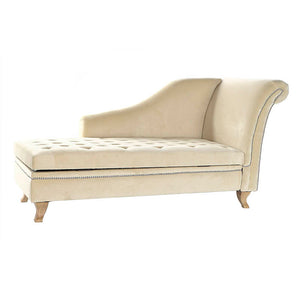 Chaiselongue Velvet Beige
