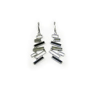 Structure Earrings 98EBC