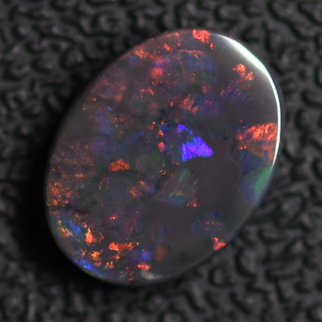 2.46 cts Australian Solid Black Opal, Solid Gem Stone, Lightning Ridge