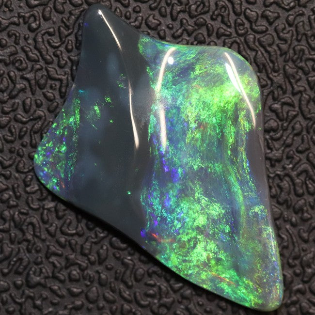 Australian Opal Lightning Ridge Carving, Solid Loose Stone
