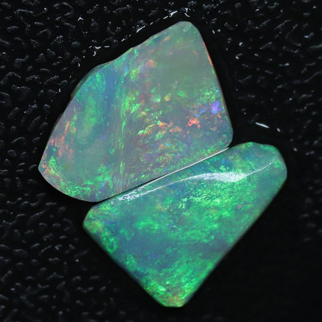 4.05 cts Opal Rough Parcel, Rubs 13.6-14.0x9.6-9.8x2.3-2.5mm