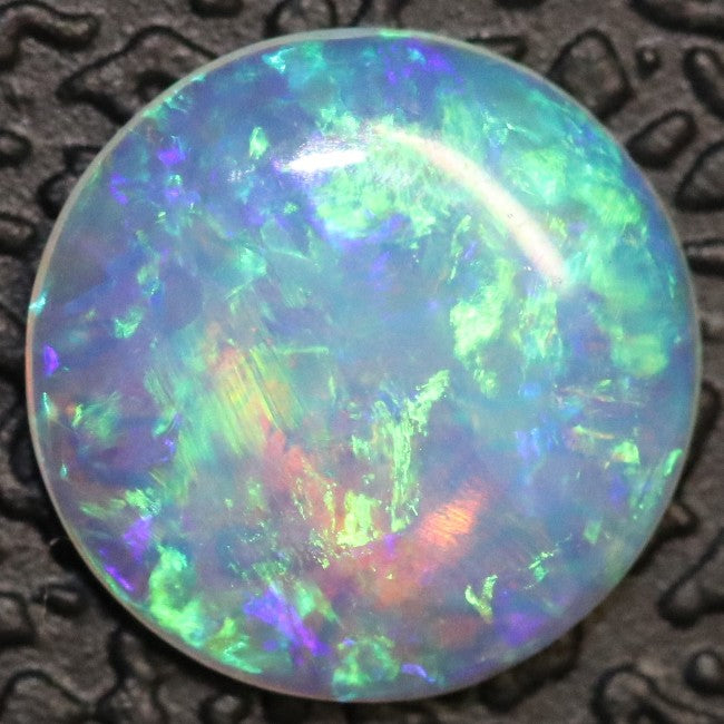 0.45 cts Crystal Opal Cabochon, Australian Solid Cut Loose Stone, South Australia