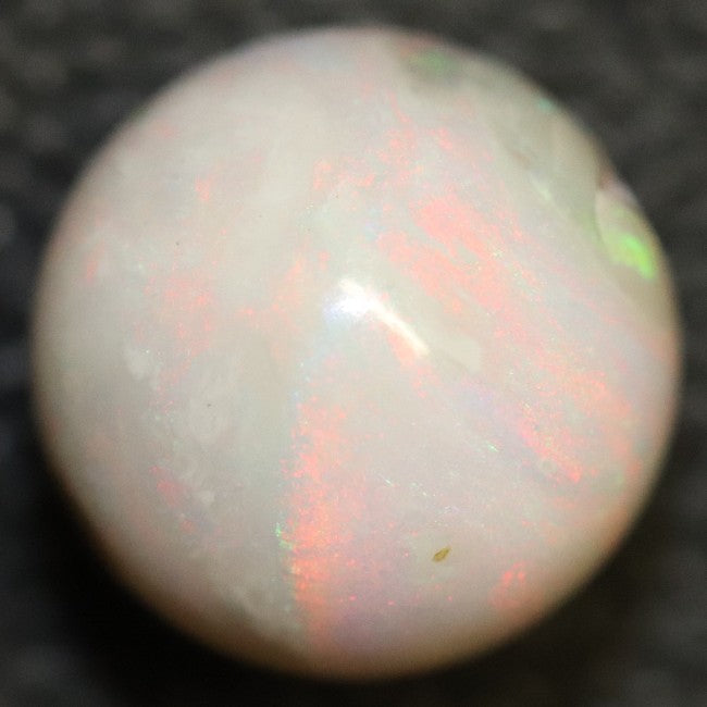 Australian Semi Black Opal, Solid Lightning Ridge Cabochon, Loose Stone, Drilled