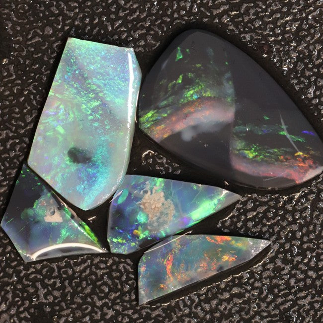 Black Opal, Black Opals, Rough Opal