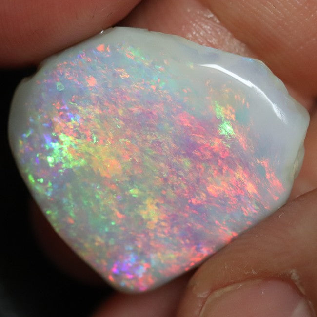 12.50 cts Single Opal Rough, Loose Rub, Gem Stone 23.3x21.2x5.2 mm