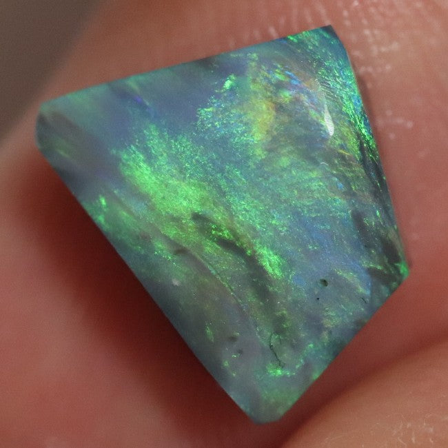 11.9 cts Australian Black Opal Rough, Lightning Ridge Parcel Rubs