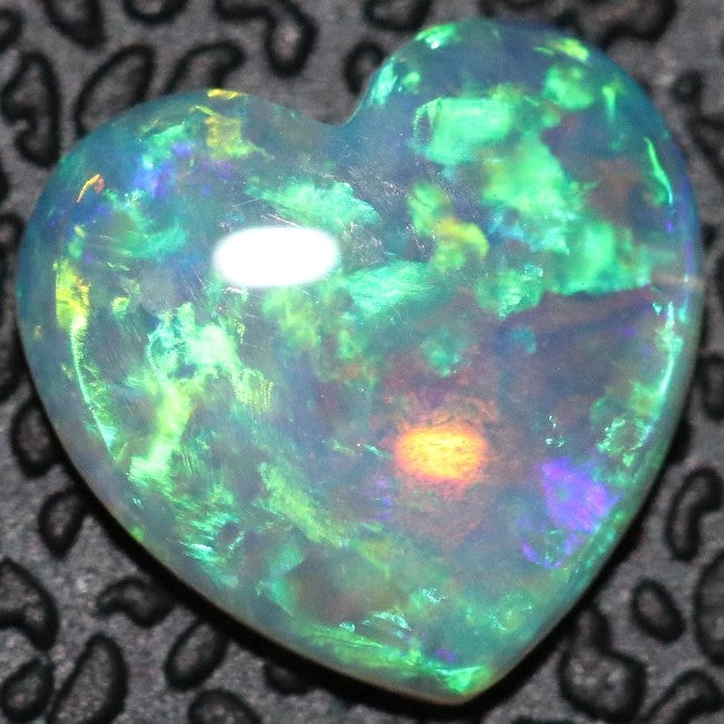 Crystal Opal Cabochon, Australian Solid Cut Loose Stone 0.56 cts South Australia
