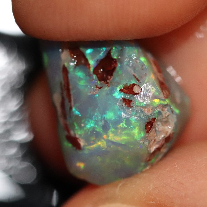 Australian Opal Lightning Ridge Solid Rough Loose Rubs 6.35 cts