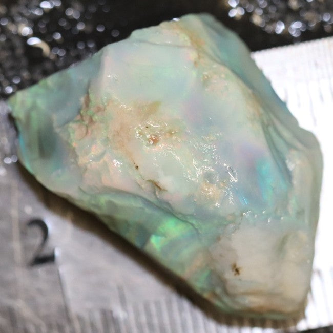 46.05 cts Australian Lightning Ridge Opal Rough for Carving