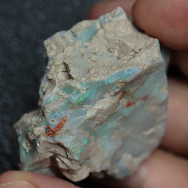 192.40 cts Single Opal Rough for Carving 45.8x37.3x26.5mm