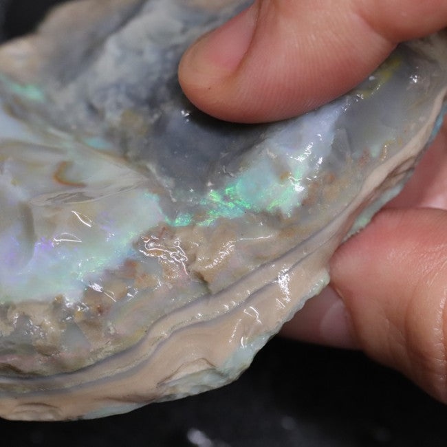 Australian Lightning Ridge, Opal Rough for Carving