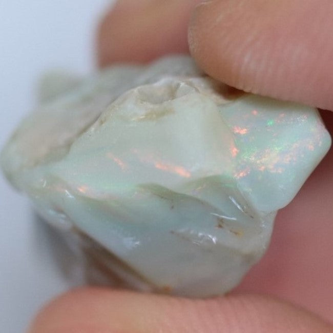 23.05 cts Single Opal Rough for Carving 25.3x13.3x12.7mm
