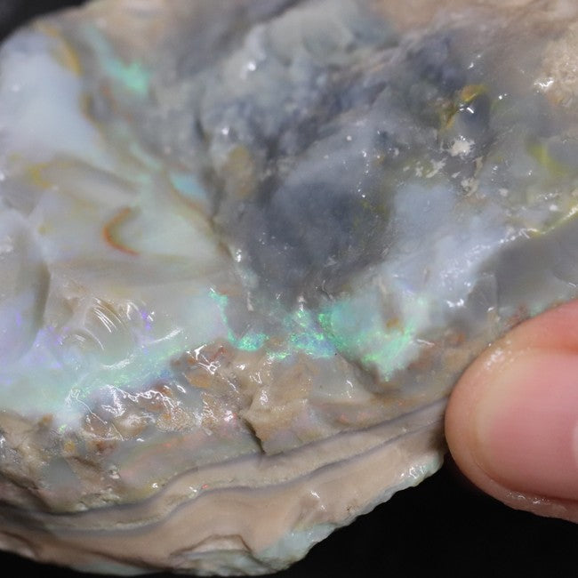 410.45 cts Australian Lightning Ridge, Opal Rough for Carving