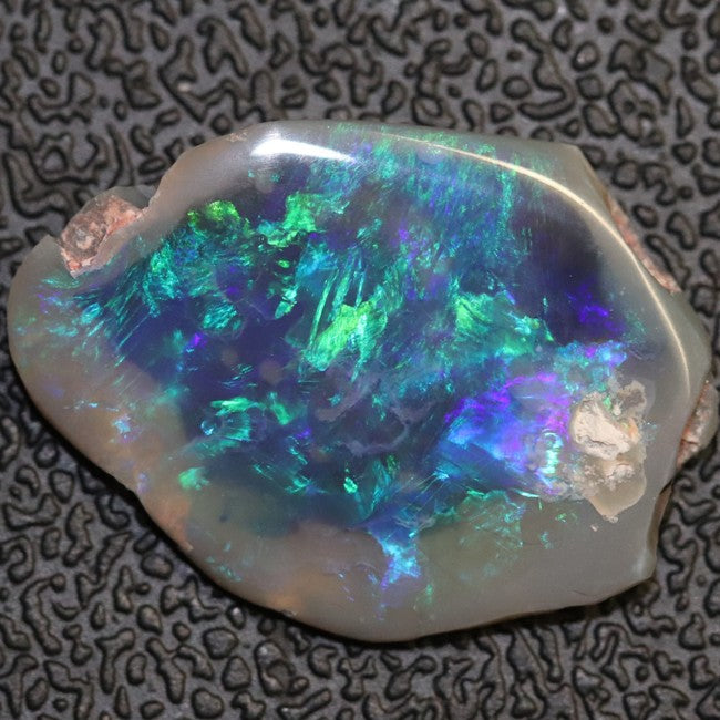 5.26 cts Australian Opal Rough Lightning Ridge Polished Specimen