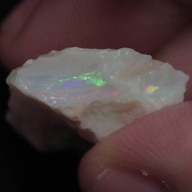 14.20 cts Australian Lightning Ridge, Opal Rough for Carving