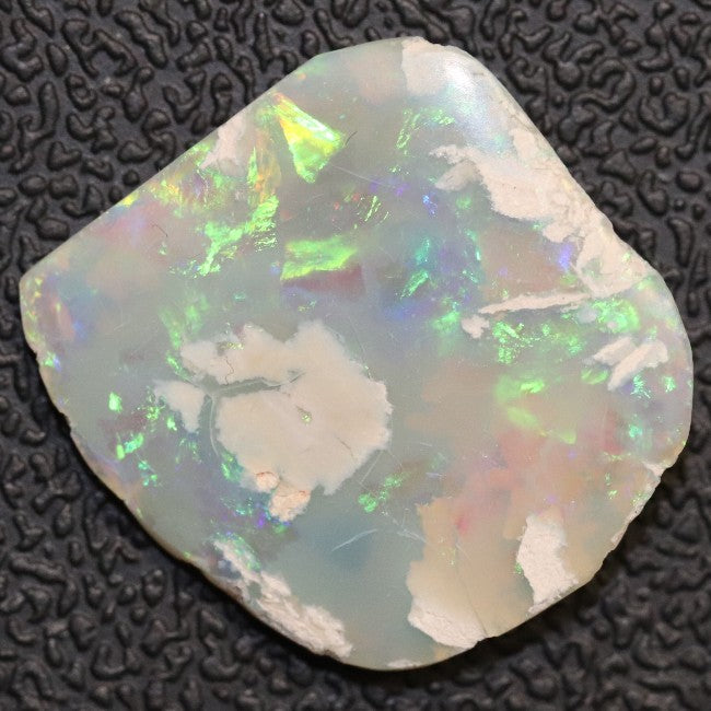 Australian Semi Black Opal Rough, Lightning Ridge, Polished Specimen