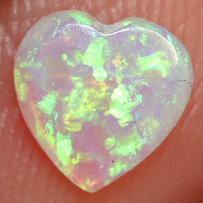 0.34 cts Crystal Opal Cabochon, Australian Solid Cut Loose Stone, South Australia