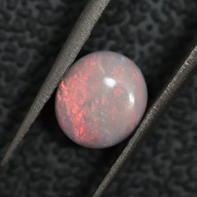 0.76 cts Australian Solid Semi Black Opal, Lightning Ridge