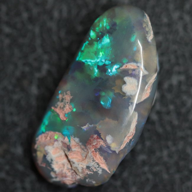 6.20 cts Australian Opal Rough, Lightning Ridge Polished Specimen