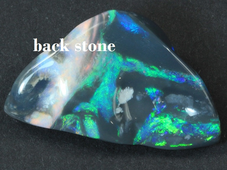 Black opals LIGHTNING RIDGE Australian SOLID Carving stone 25.3 cts +Vid