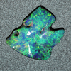 Black Opal Lightning Ridge Australian Solid Carving Stone, 14.80 ct