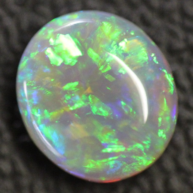 Australian Opal Lightning Ridge ,Crystal Cabochon Solid Stone 2.10 cts