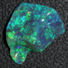Australian Opal Lightning Ridge Solid Crystal Carving Loose Stone 3.45ct