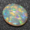 Opal Lightning Ridge Crystal Cabochon, Australian Solid Cut Loose Stone 3.40cts