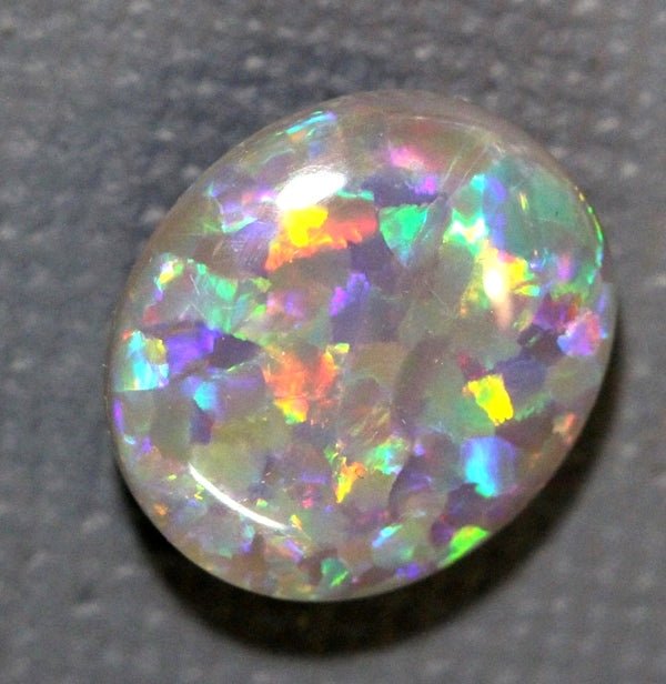 Australian Lightning Ridge Solid Semi Black Opal Loose Stone 4.35 cts