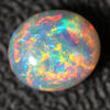 Semi Black Crystal Opal Solid Lightning Ridge Cabochon Loose Stone 1.72 cts