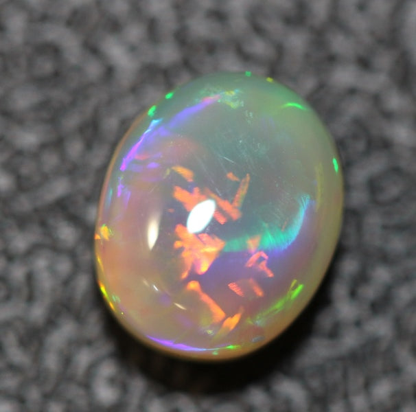Chinese Writing Opal Lightning Ridge Solid stone 2.01cts