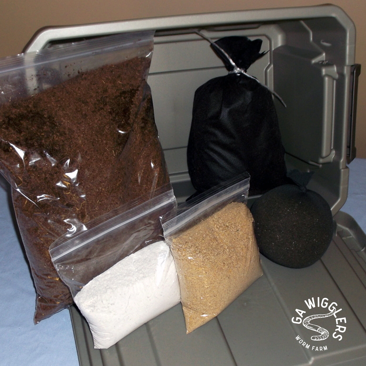 Small Worm Farm Composting Kit