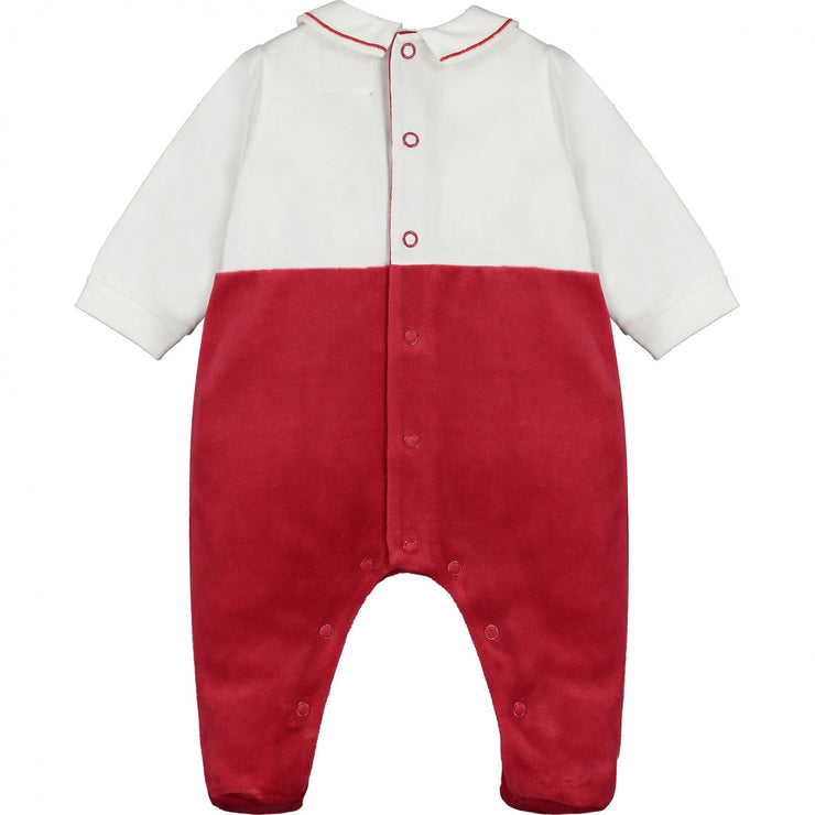 Newark Red Boys Traditional Babygrow