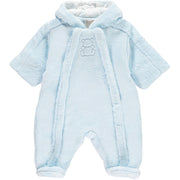 Nolan Baby Boys Cosy Fleece Pramsuit