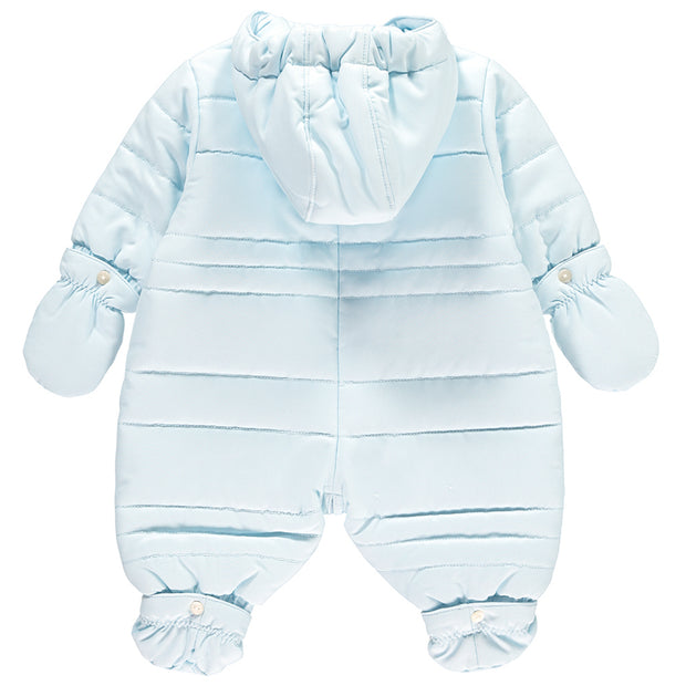Nelson Boys Pramsuit with Mitts & Booties