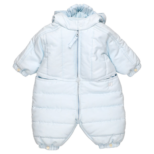 Rohan Blue Baby Boys Winter Snowsuit