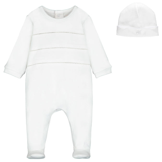 Sutton Unisex Babygrow & Hat Set
