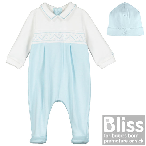 Toby Boys Babygrow & Hat Set