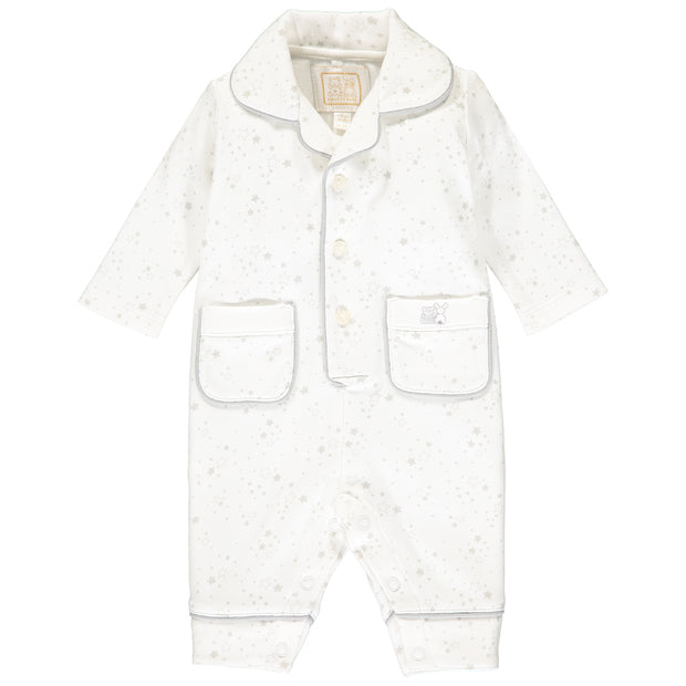 Glade Grey Star Print Pyjamas
