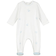 Tyrone Cute Boys Bear Design Babygrow