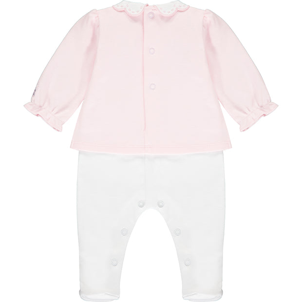 Wren Baby Girls Babygrow & Hairband