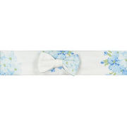 Waverley Navy Floral Babygrow & Hairband