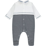 Walsh Navy Nautical Baby Boys Babygrow