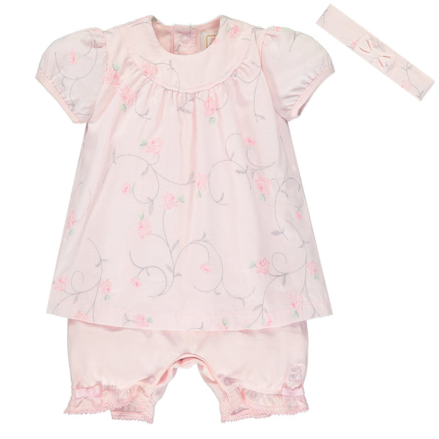 Suzie Girls Romper Dress & Hairband