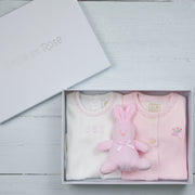 Tessa Pink Baby Girls Gift Set