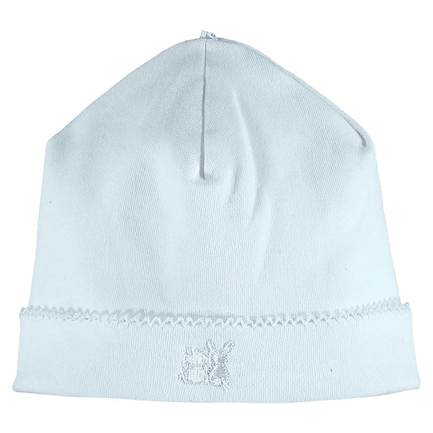 Baby Boys Blue Pull On Hat
