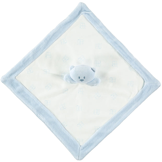 Emile Blue Teddy Bear Comforter